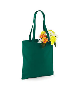 Westford Mill Cotton Tote Bag For Life W101 - 70pcs in 10 Colours