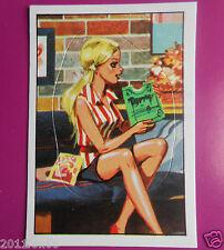 figurines prentjes cromos stickers picture cards figurine barbie 21 panini 1976