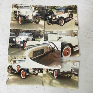 Vintage Original Photographs of a 1929 Buick Car