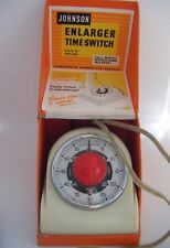 Vintage Johnson Enlarger Time Switch - Photography - BOXED with instructions