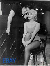 Marilyn Monroe Frankie Vaughn VINTAGE Photo Let's Make Love