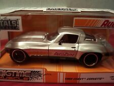 "Jada 1966 Chevrolet Corvette 1/24 NIB ""AutoZone"" limited 2018 edition 1of 15,000"
