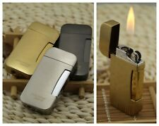 Refillable Lighter Butane Gas Cigarette Cigar Adjustable Regular Flame Lighters