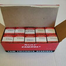 Box Of 10 Mcgill Cyr 1 S Camrol Cam Follower Bearings Nos New Old Stock