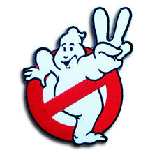 Ghostbusters Patch Embroidered  Iron on Ghost Buster Badge Aufnäher Emblem #2