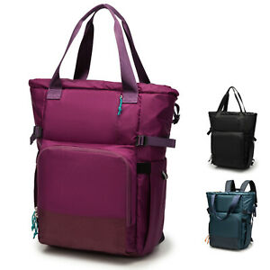 Ultra Lightweight Convertible Diaper Backpack to Tote Bag. Sporty Casual Design