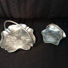 Vintage 2-piece aluminum ware by Farber & Shlevin and Rodney Kent (E1)