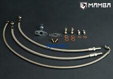 MAZDA MIATA MX-5 323 GTX w/ IHI RHB5 VI58 turbo oil & water line kit