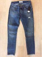NWT One Teaspoon Freebirds II Jeans 22 27 28 29 30 Distressed Blue Low
