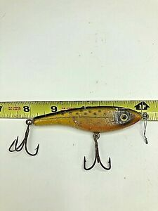 South Bend Lipless Sinking Minnow Fishing Lure Trout Finnish Vintage Old Tackle