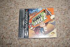 Street Sk8er 2 Skater  (Sony Playstation 1 ps1) Complete