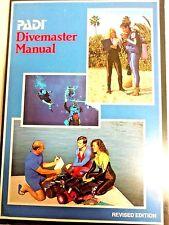 New listing Padi Divermaster Manual