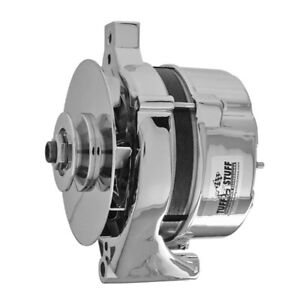 Tuff-Stuff Alternator 7078NAP; 1G 70 Amp Polished External for 1961-1985 Ford