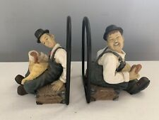Laurel And Hardy Bookends