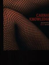 CARNAL KNOWLEDGE  AA.VV. THE EROTIC PRINT SOCIETY 2005