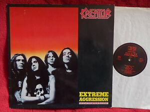 Kreator - Extreme aggression   klassse German Noise International LP  1. Press.