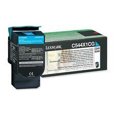 Original Lexmark tóner nuevo c544x1cg cian para c544 c546 x544 x546 x548 nuevo B