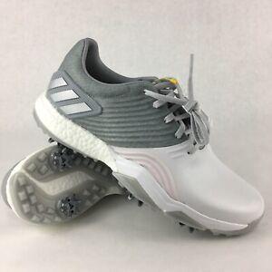 Adidas Adipower 4orged S Golf Shoes Grey Boost DA9430 Mens 9