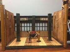 Action Figure Diorama Dojo NECA, TMNT, Marvel Legends, Bruce Lee