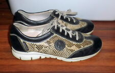 WOMENS MEPHISTO RUNOFF AIR-JET FAUX SNAKE SKIN PRINT COMFORT SHOES SIZE US 8