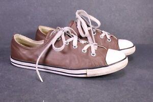 CB1433 Converse All Star Dainty OX Damen Chucks Sneaker Gr. 40 Leder braun