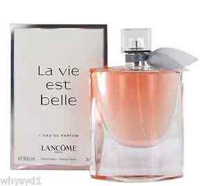 LANCOME LA VIE EST BELLE EDP Spray 100ml/3.4oz NEW Women's Perfume