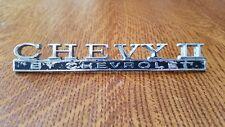 Original 1968 Chevy II By Chevrolet Trunk Emblem, Badge PT#  FT 7745749