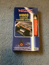 UNOPENED TORNADO VHS VIDEO CASSETTE CLEANING SYSTEM TAPE AND FLUID