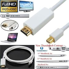 9FT Thunderbolt TV Cable Adaptador Displayport A Hdmi Para Macbook Pro Imac n V16
