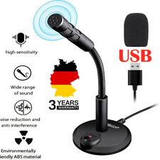 USB PC Mikrofon Kondensator Mikrofon, Podcast Microfon, Computer Microfon DE
