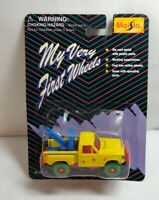 MAISTO MY VERY FIRST WHEELS DIECAST ABC TOW TRUCK - SEALED BLISTER PACK