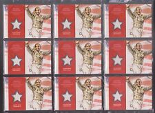 (9) 2012 TOPPS OLYMPIC MARIEL ZAGUNIS ~ HUGE RELIC CARD LOT~ FENCING