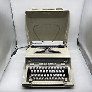 Hermes 3000 Portable Typewriter With Case Vintage