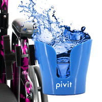Pivit Clamp On Drink Bottle Cup Holder For Wheelchair Walker Crutches Scooter