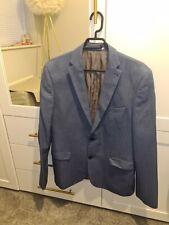 Next Slim Fit Blue 3 Piece Suit