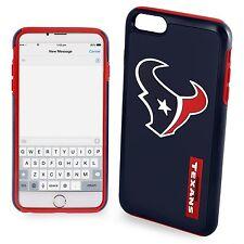 "New Retail Box Houston Texans NFL iPhone 6 Plus 6s Plus 5.5"" Dual Hybrid Case"