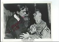 HORROR HOTEL 1960 ORIGINAL BW VINTAGE STILL PHOTO HORROR WITCHES CHRISTOPHER LEE