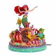 FIGURE DISNEY TRADITIONS THE LITTLE MERMAID LA SIRENETTA ARIEL STATUE STATUA #1