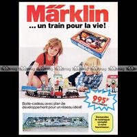 MÄRKLIN Train Electrique (1975) : Pub Publicité Original Advert Ad #A1180