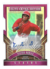 2015 Victor Robles Panini Elite Extra Edition Rookie Die Cut Auto /75