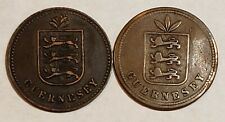 Guernesey Guernsey 4 Doubles 1864 1914