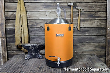 ANVIL Fermenter Cooling System Control 7.5 Gal Bucket Fermenter & Plastic Bucket