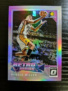 Reggie Miller 2017-18 Donruss Optic Retro Series Holo Silver Prizm Pacers