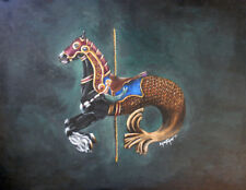 Seahorse Gypsy Vanner Hippocampi Carousel Horse cards