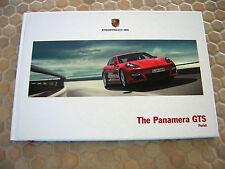 PORSCHE PANAMERA GTS HARDBACK PRESTIGE SALES BROCHURE 2013 USA RARE