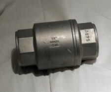 STAINLESS STEEL 316,  IN-LINE CHECK VALVE,800 WOG/CF8M, NEW