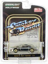 Chase 1977 PONTIAC FIREBIRD T/A CHROME SMOKEY & THE BANDIT 1/64 GREENLIGHT 51223