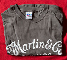 MARTIN GUITARS t-shirt vintage Maglia size M GREY near Mint