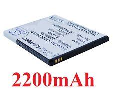 Batterie 2200mAh Pour BLU D550, D550A, D551A, Studio 5.3, type C766205220T