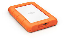2TB LaCie Rugged Mini USB3.0 Shock-resistant Portable Hard Drive